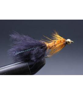 BH Wolly bugger Orange/black tail Koko 8