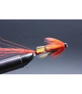 """Allys Shrimp red 1 1/4"""" Nylon tube"""