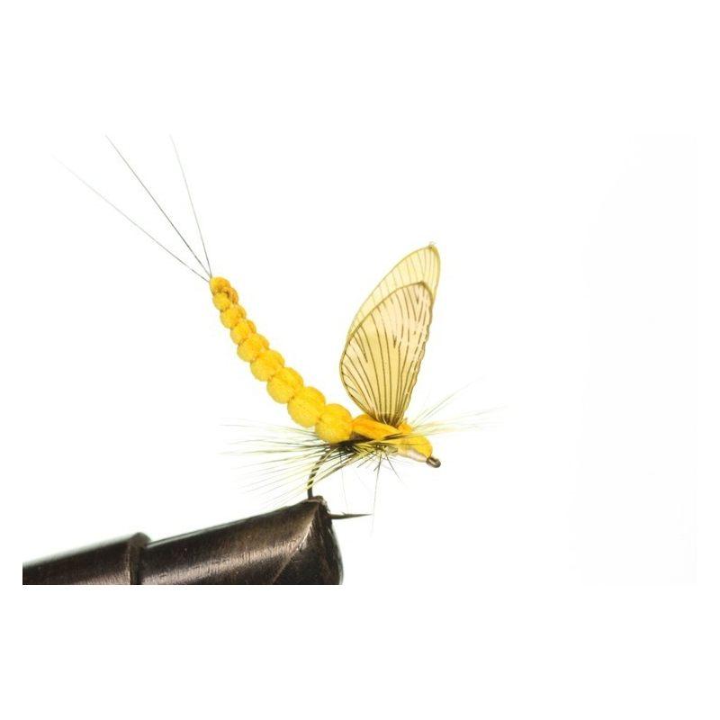 Mayfly Dun 3 Sulphur, H/T & A: Sulphur Yellow