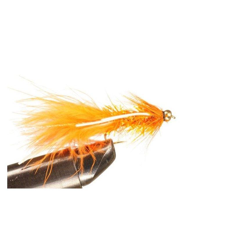 BH Fritz Woolly Bugger Rubberlegs Orange Koko 10