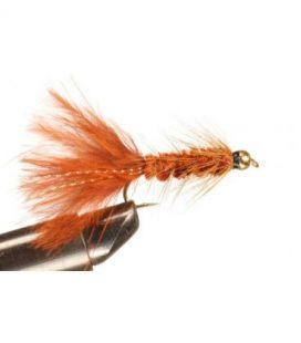 BH Wolly Bugger Brown Storlek 6