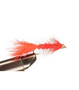 BH Wolly Bugger Red Storlek 8