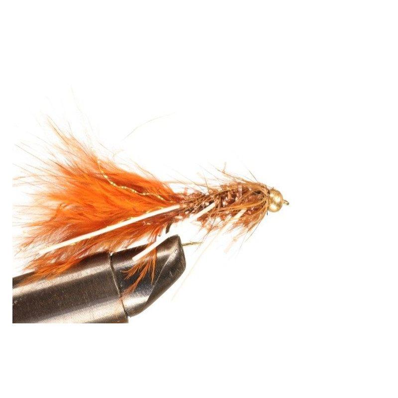 BH Fritz Woolly Bugger Rubberlegs Brown Koko 10