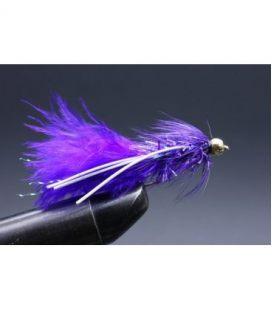 BH Fritz Woolly Bugger Rubberlegs Purple Koko 10