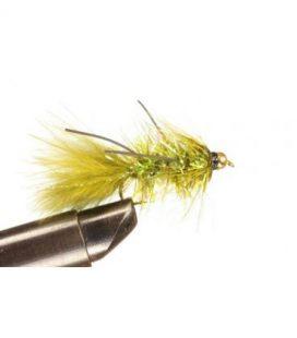 BH Fritz Woolly Bugger Rubberlegs Olive Koko 8