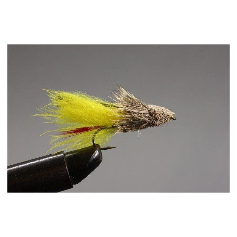 Marabou Muddler Yellow Koko 6