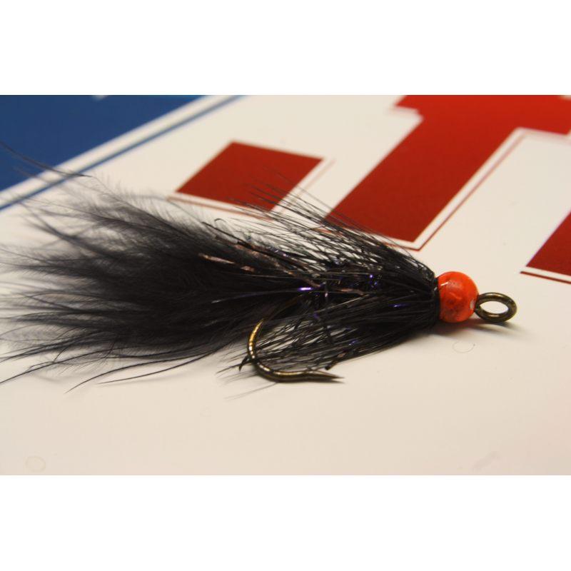 Leech black orange size 6