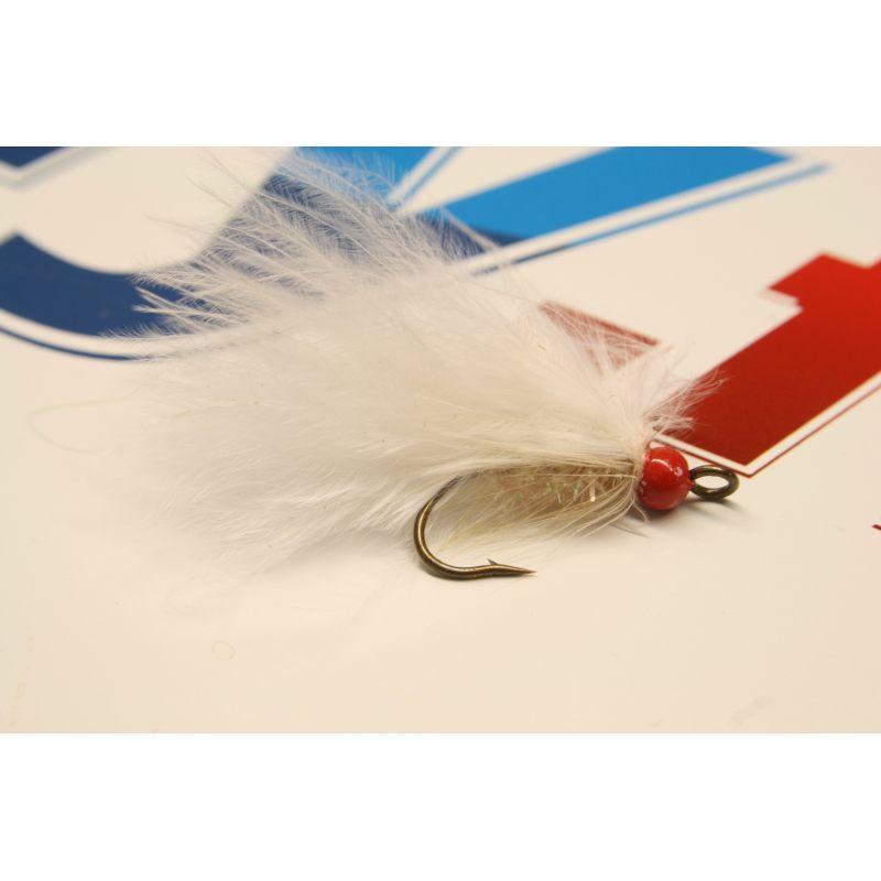 BH leech white redhead size 6