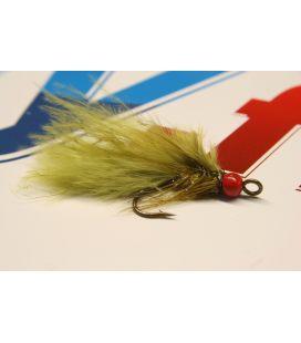 BH Leech Olive redhead Size 6