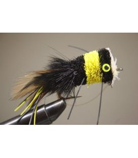 Popper Black/Yellow Size 3/0