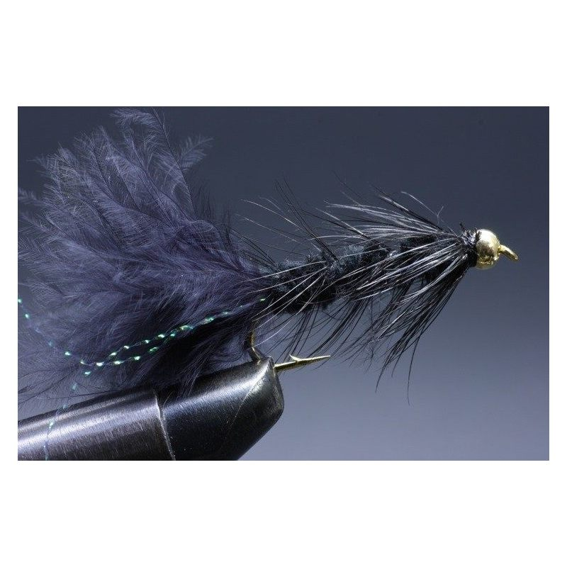 BH Wolly Bugger Black Size 6