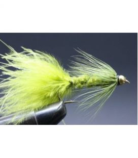 BH Wolly Bugger Olive Size  6