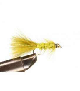 BH Wolly Bugger Olive Size  8