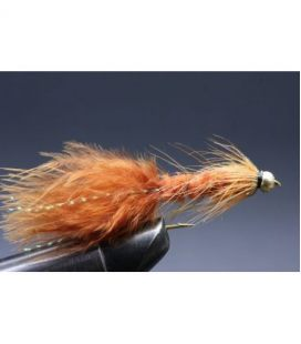 BH Wolly Bugger Brown  Size  8