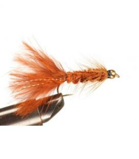 BH Wolly Bugger Brown Size  6