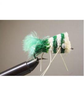 Green & White Popper Size  8