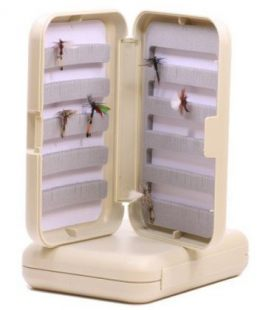 Plastic Fly box grey