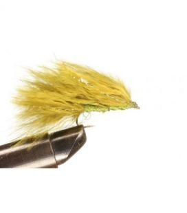 Marabou Leech Olive Size  10