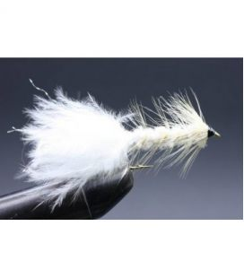 Wolly bugger White Size 8