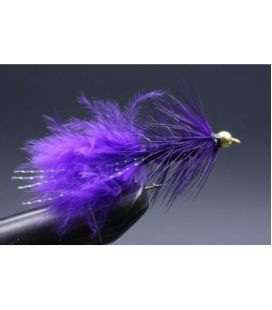 BH Wolly bugger purple Size 8