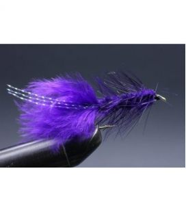 Wooly Bugger Purple Koko 8