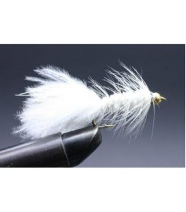 BH Wolly bugger White Size 8