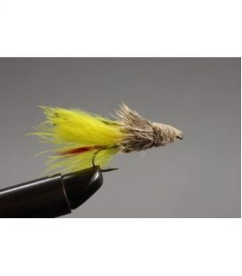 Marabou Muddler Yellow Size 6