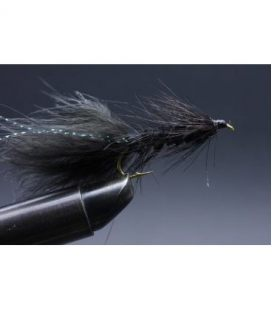 Wooly Bugger Black Size 6