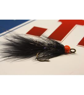 Leech black orange size 6