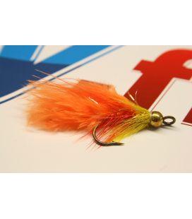BH leech yellow orange size 6